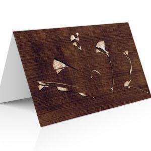 composition japonisante pour ce bouquet de fleurs au brun guillevic