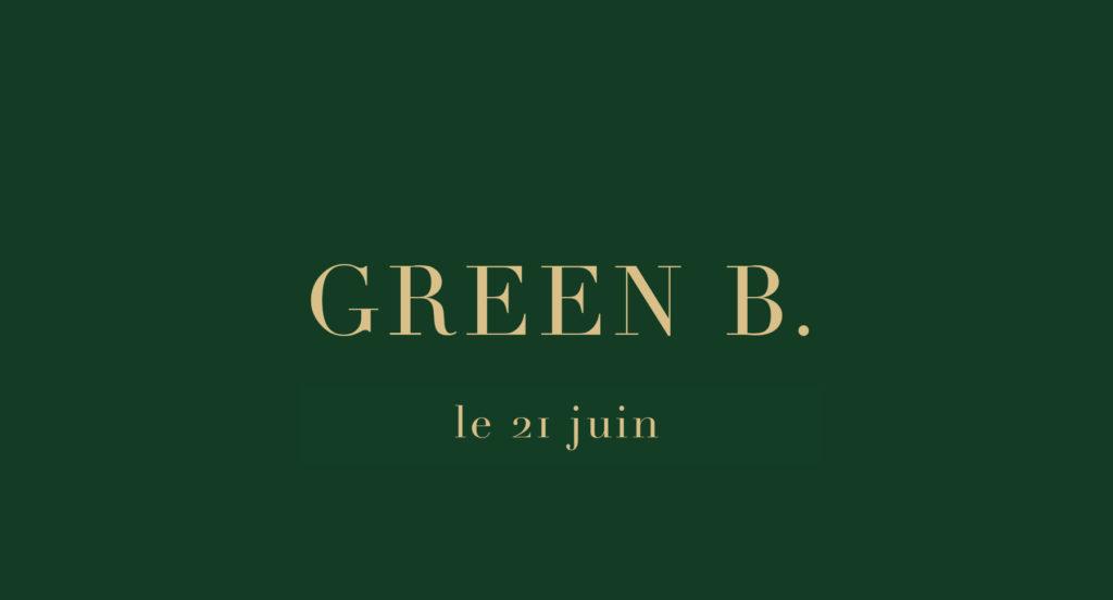 le 21 juin va être dévoilée l'œuvre de Yannig Guillevic intitulée GREEN B. pour Green Beret